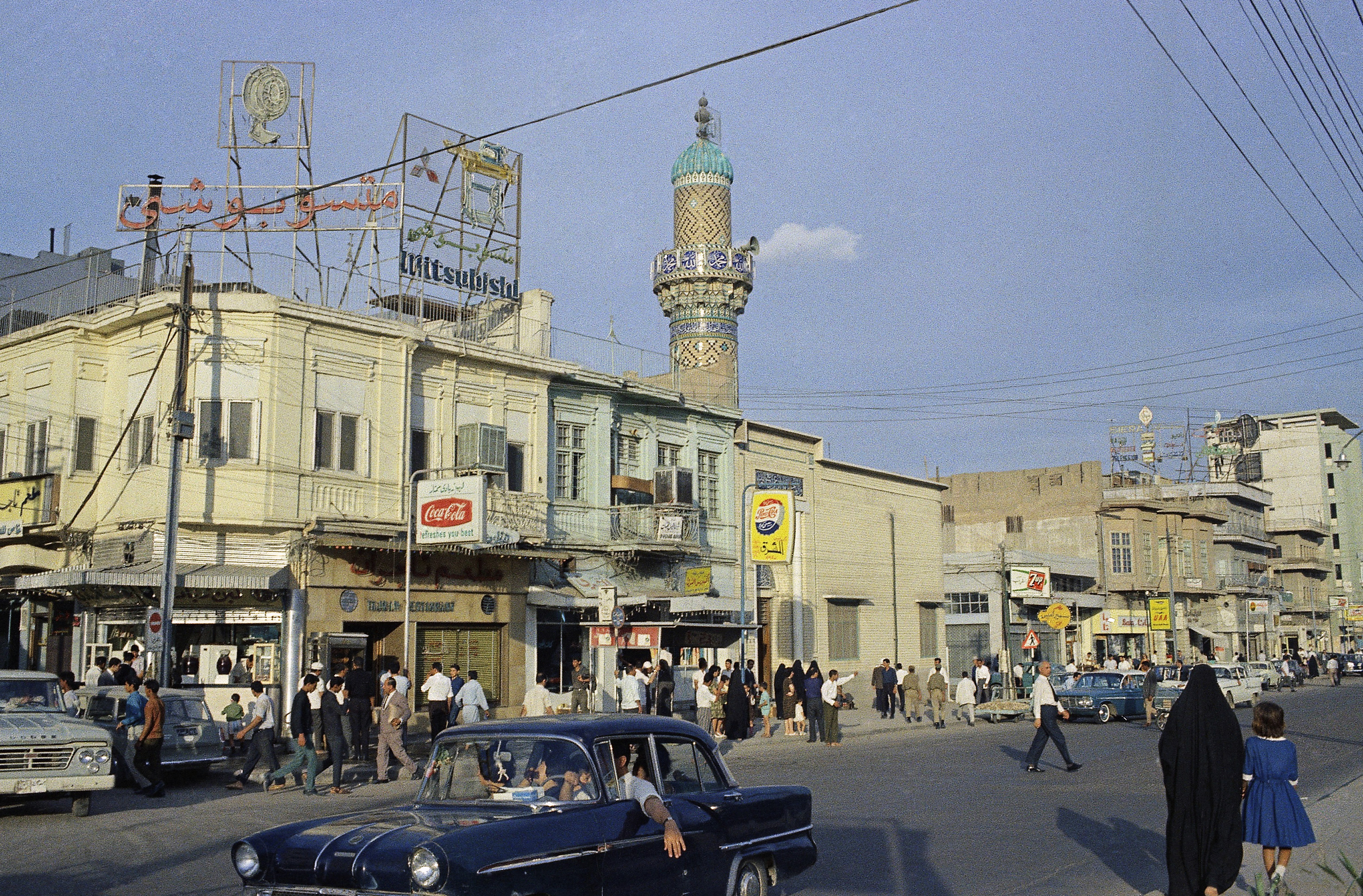 street scene in Baghdad, Iraq (AP Photo)